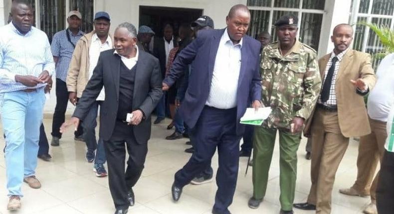 Karen Hospital's Dr Dan Gikonyo writes to police on Keroche director Joseph Karanja's medical condition asking to have him released