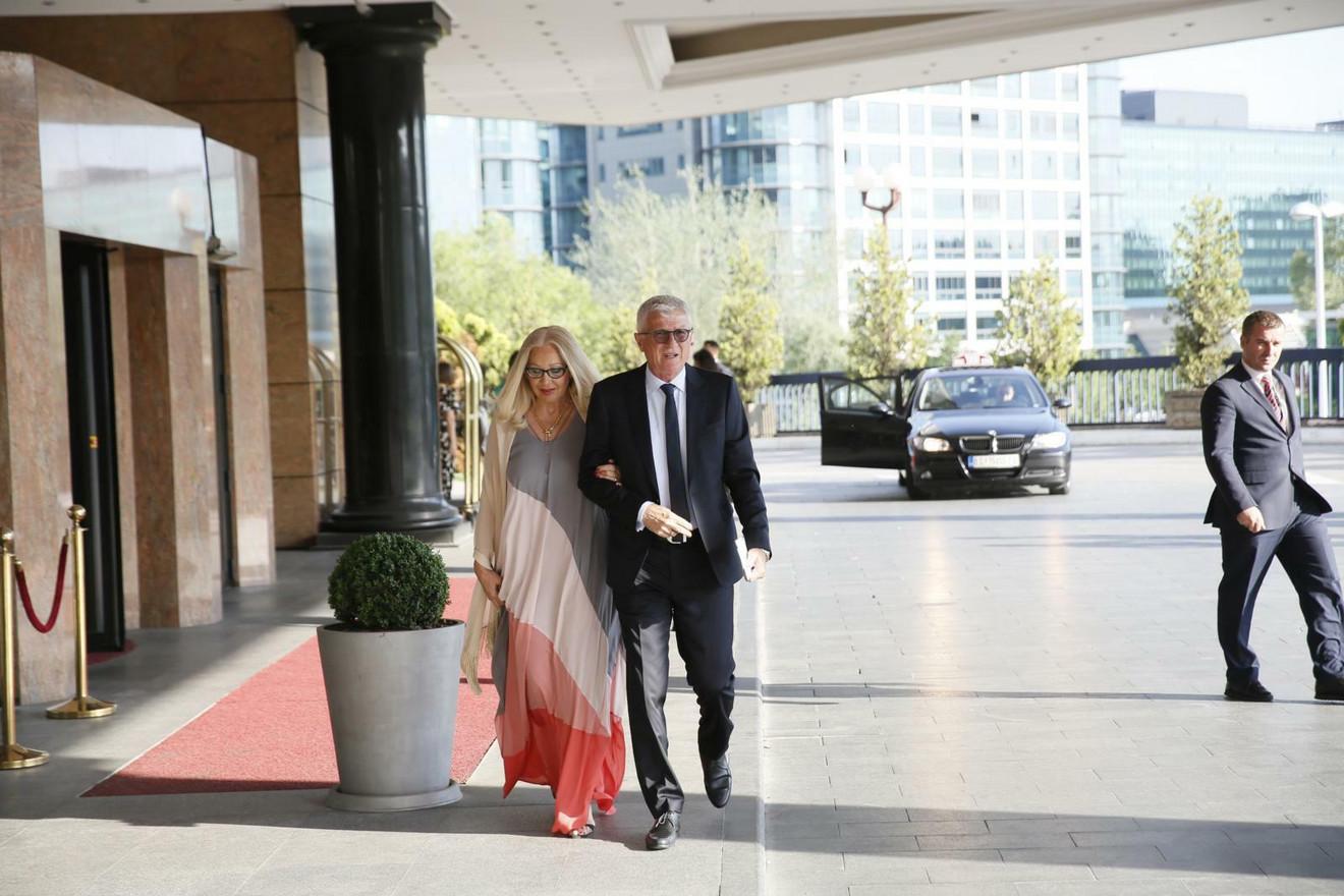 Zoran Filipović sa suprugom Jadrankom