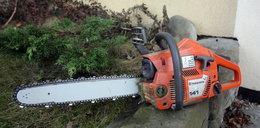 23-latek zginął przy cięciu drewna