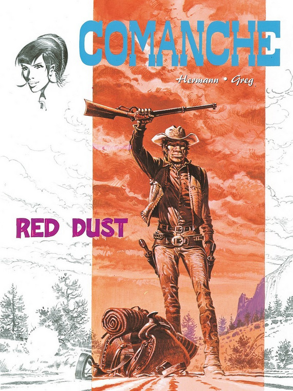 """Comanche. Red Dust"" (okładka)"