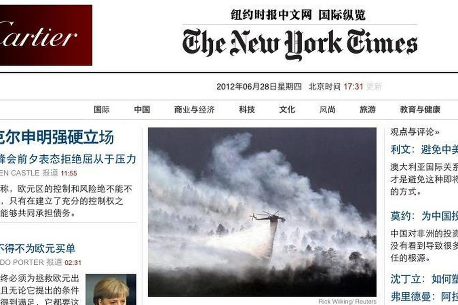 new york times chiny cn.nytimes