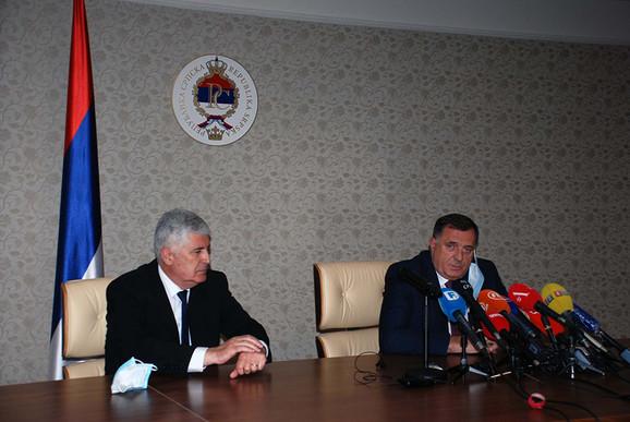 Milorad Dodik, Dragan Čović