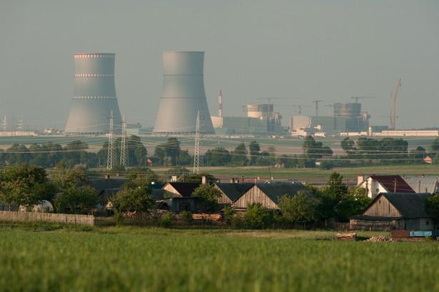 Białoruś, elektrownia atomowa
