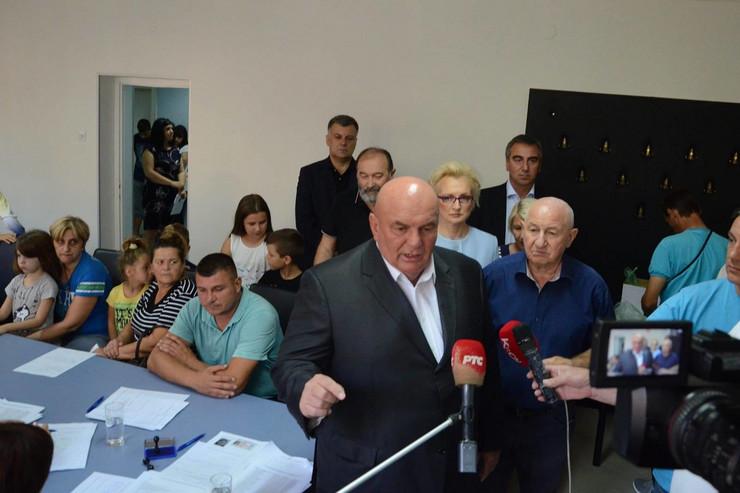 Dragan Marković Palma, novac, dodela, Jagodina