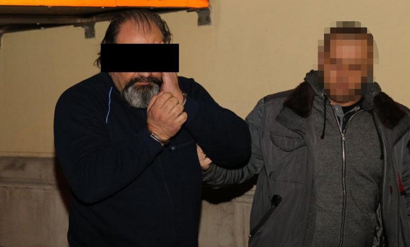 """Przez dwa lata Arkadiusza Ł.(49 l.) pseudonim """"Hoss"""" tropili policjanci z trzech krajów"""