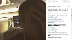 Justin Bieber zrobił sobie tatuaż na twarzy