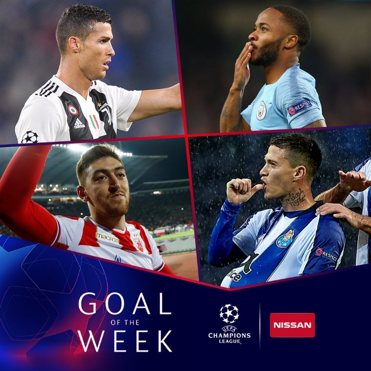 Champions League Goal of the Week