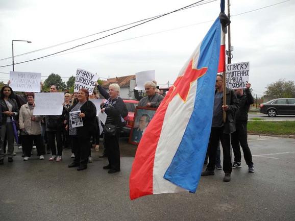 Sa jednog od protesta
