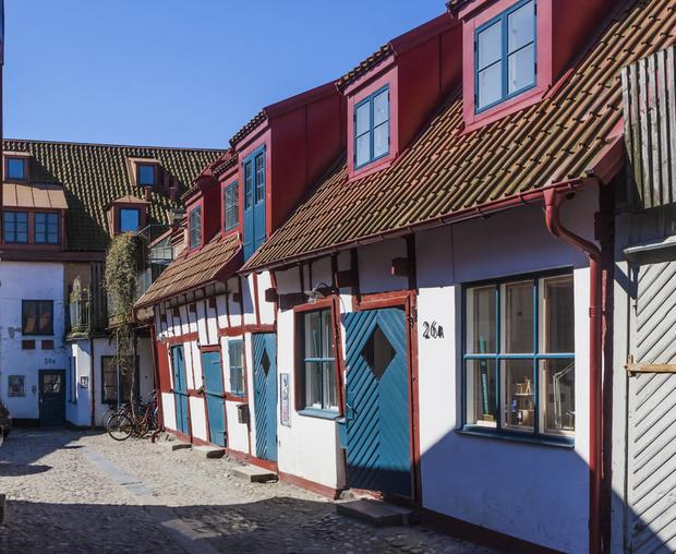 Stare Ystad, Szwecja