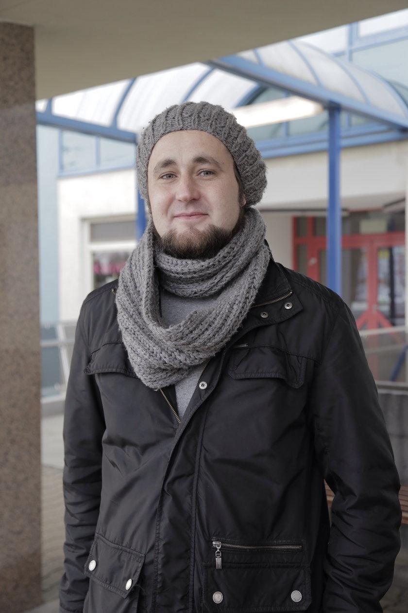 Grzegorz Grzywaczewski (32 l.), wrocławianin