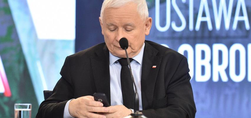 Nikt nie podsłucha Jarosława Kaczyńskiego?! Prezes PiS wie, jak oprzeć się hakerom