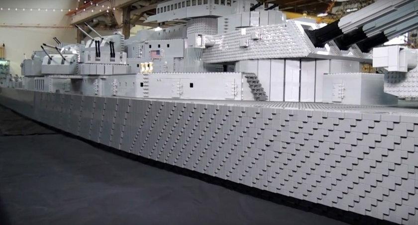 Model pancernika USS Missouri