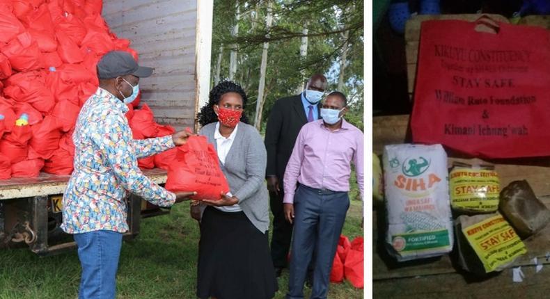 Family in Gikambura hospitalized after consuming William Ruto-branded donation - Kimani Ichungwa distances DP
