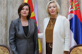 Jadranka Joksimović i Vera Jovanovska, foto Tanjug, Vlada RS