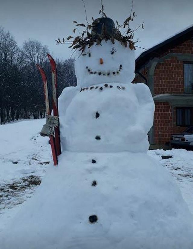 Sneško skijaš u Jošavci kod Čelinca
