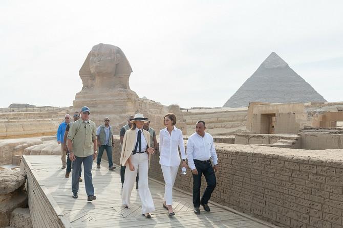 Melanija Tramp u Kairu
