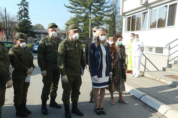 Ruska delegacija stručnjaka