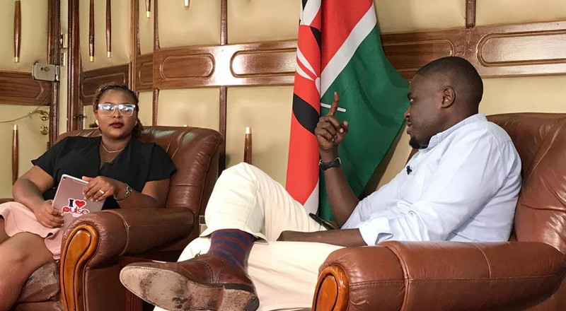 Highlights of Senator Sakaja's interview with Pulse