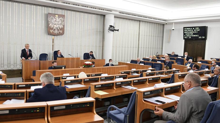 Senat przyjął rezolucję ws. Białorusi