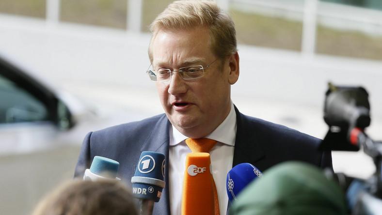 Ard van der Steur, szef holenderskiego MSZ