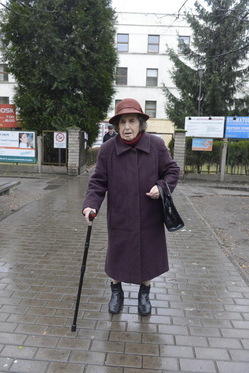 Genowefa Janosik (80 l.), pacjentka z Wrocławia