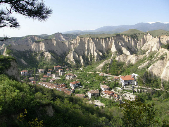 Melnik u Bugarskoj predstavlja mesto sa najočuvanijom balkanskom arhitekturom