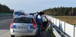 Kradli na autostradzie
