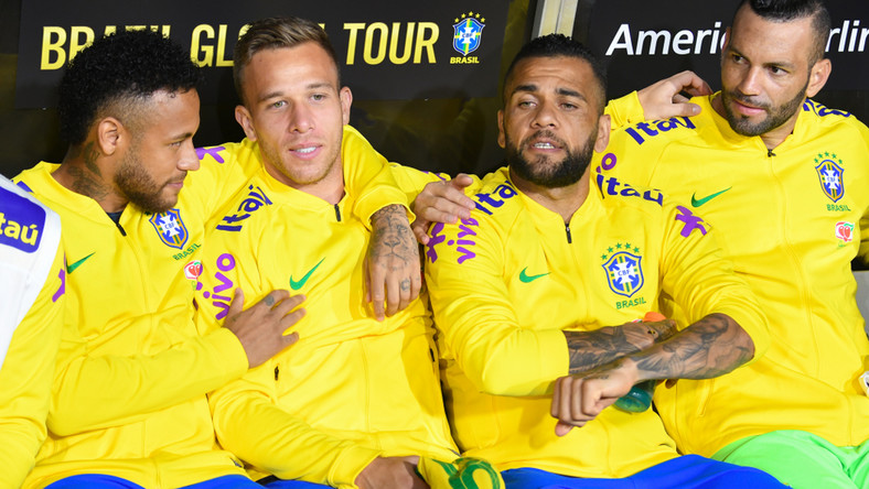 Piłkarze reprezentacji Brazylii