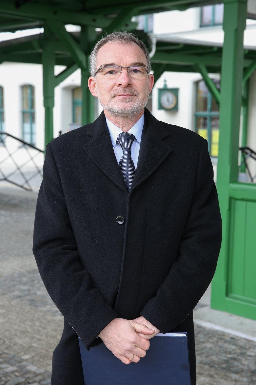 Mirosław Siemieniec z PKP PLK