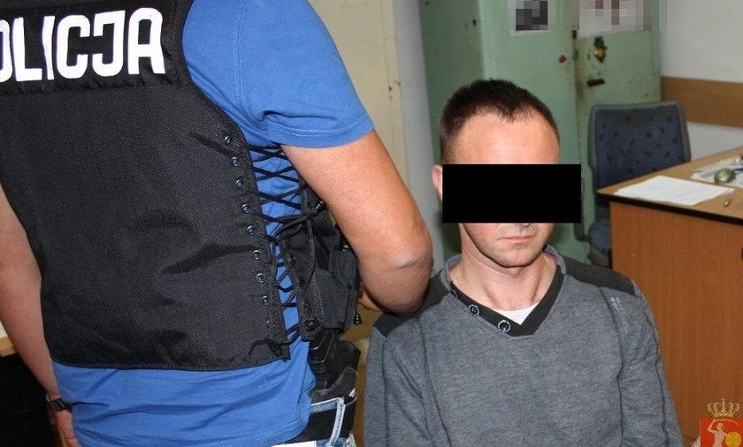 gwałciciel warszawa ola panoszewska