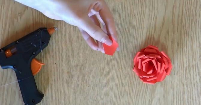 Buket ruža od papira