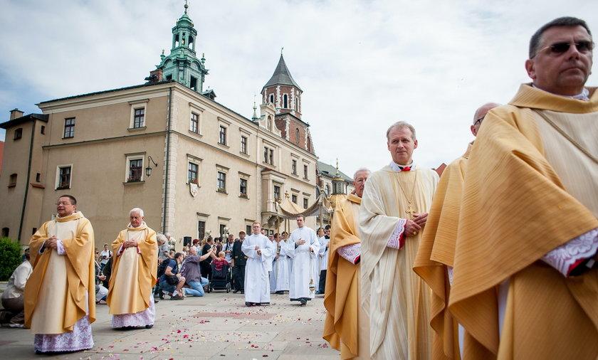 Boże Ciało w Krakowie
