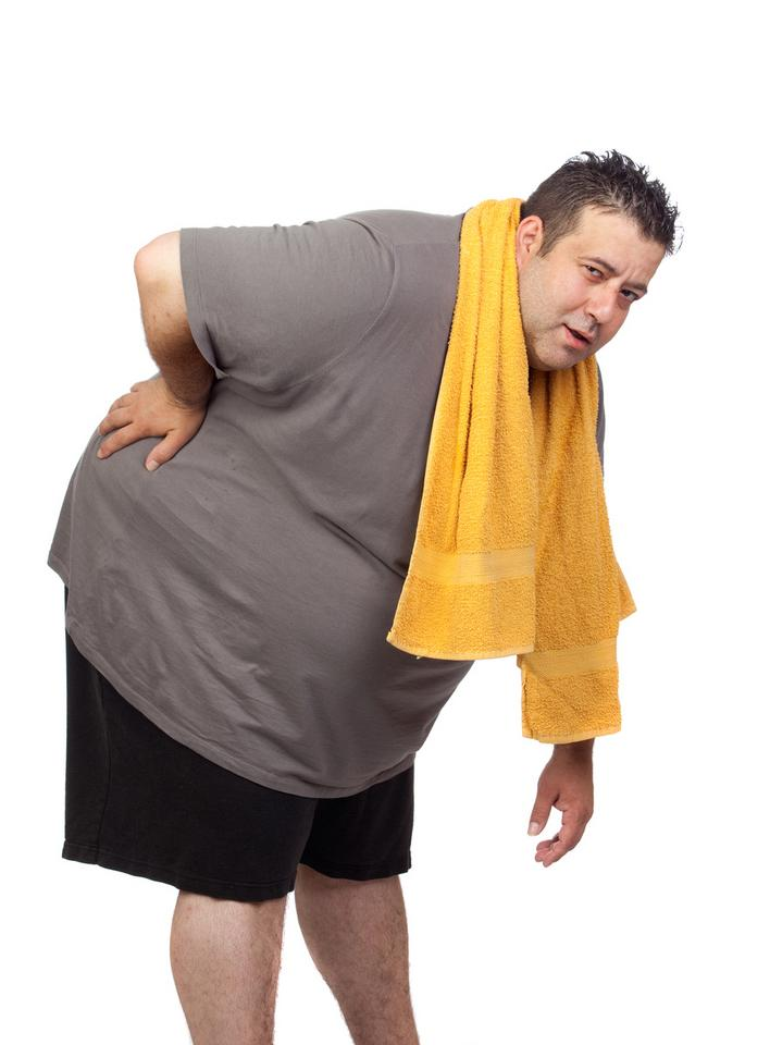 Zbij wagę! Nadmiar tkanki tłuszczowej obciąża kręgosłup