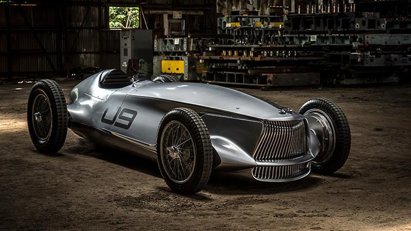 Infiniti prezentuje Prototype 9, elektryczny samochód wyścigowy