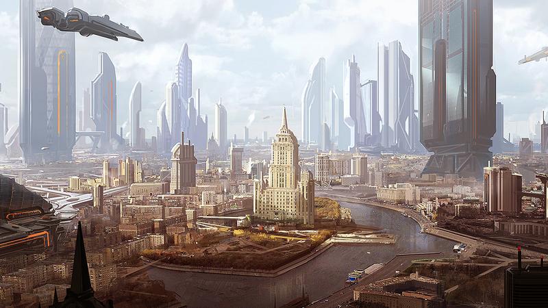 Star Citizen - szkic koncepcyjny modułu Planetside