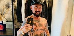 Vega pochwalił się tatuażami. Fani zwrócili uwagę na coś zupełnie innego
