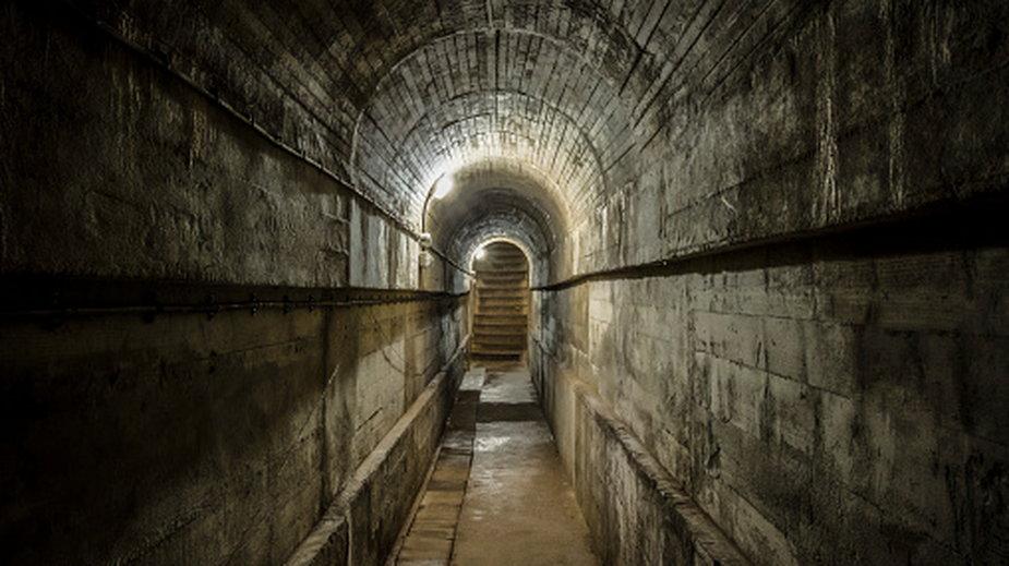Zwłoki znaleziono w bunkrze