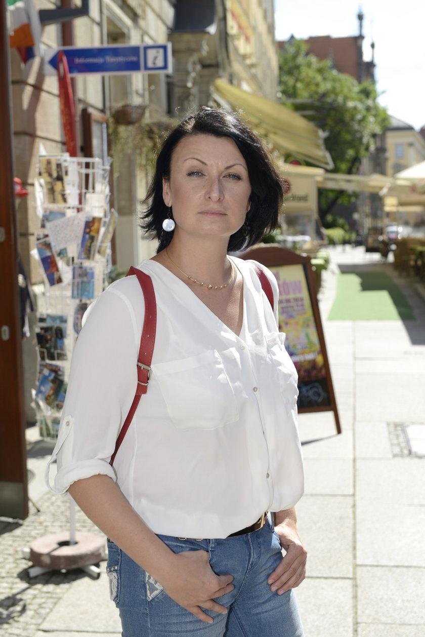Agnieszka Korzeniowska (36 l.), rzeczniczka MPK