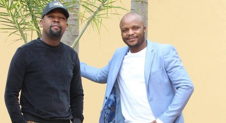 Alex Mwakideu and Jalang'o