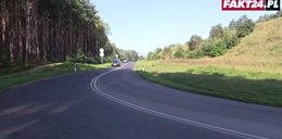 Szaleniec montuje śmiertelne pułapki na drodze
