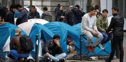 """""""Dżungla"""" z Calais przeniesiona do... Paryża. ZDJĘCIA"""
