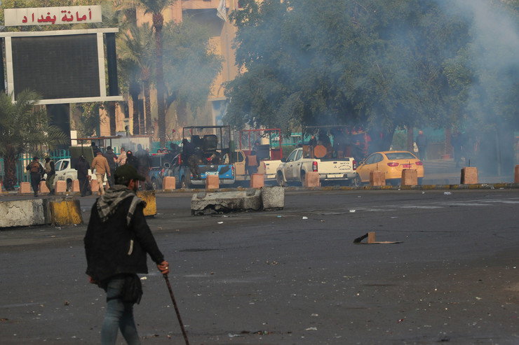 Irak, demonstracije, Bagdad