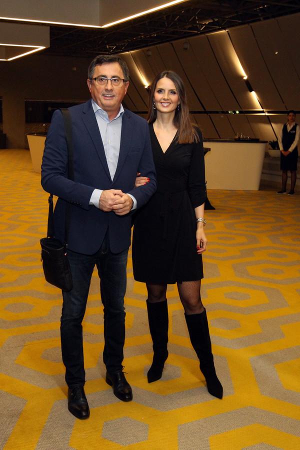Voja Nedeljković sa suprugom