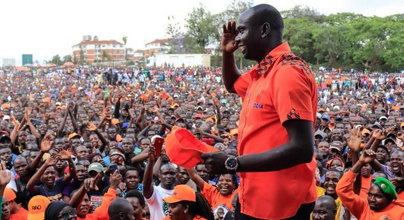 ODM Nairobi Minority Leader Elias Okumu to be punished for not supporting Imran Okoth during Kibra by-election