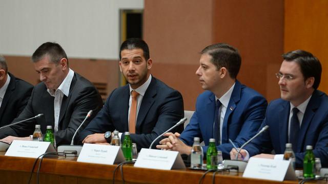 Vanja Udovičić, ministar omladine i sporta
