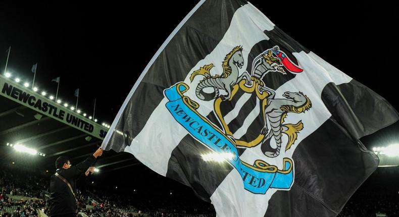 Newcastle drapeau