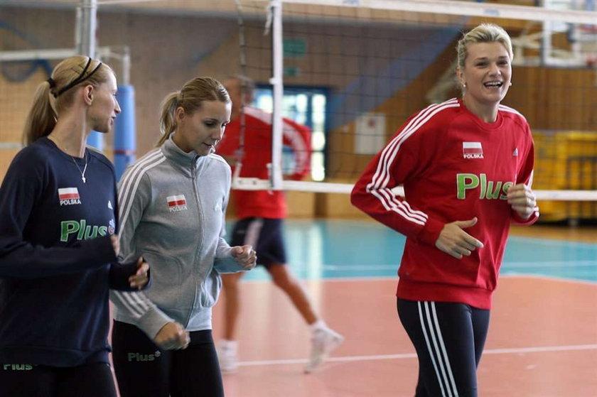 Małgorzata Glinka rozpoczyna trenuje z kadrą na zgrupowaniu siatkarek