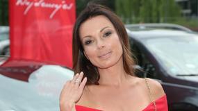 Katarzyna Glinka w czerwonym kombinezonie. Co za stylizacja!