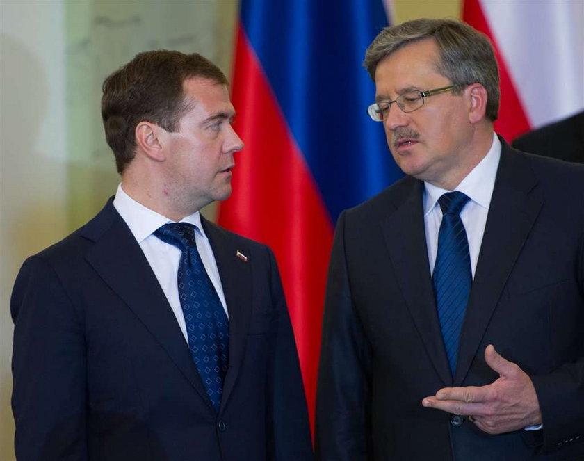 Prezydenci Polski i Rosji w Katyniu 11 kwietnia
