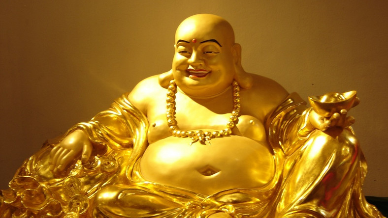 A picture of smiling buddha [Bhmpics]